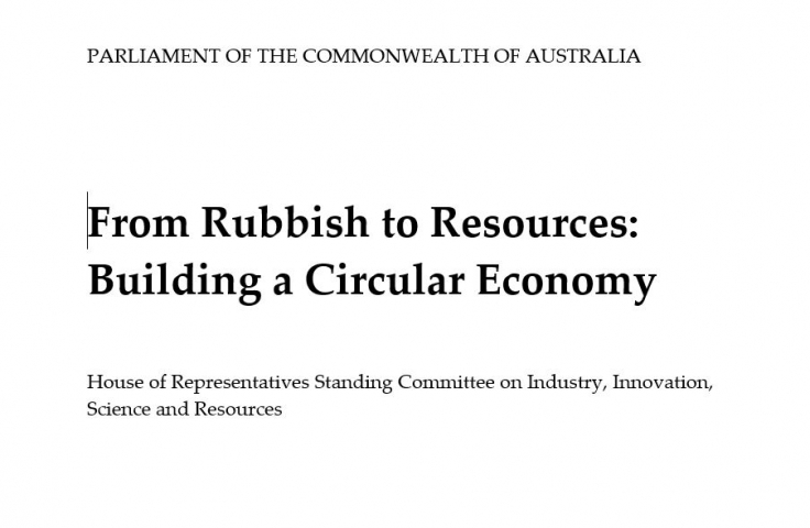Parliamentary Rubbish report image