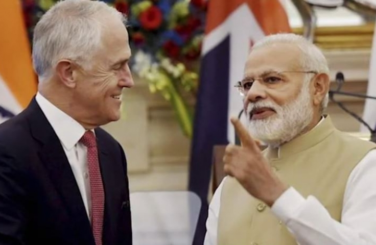 Turnbull Modi video image